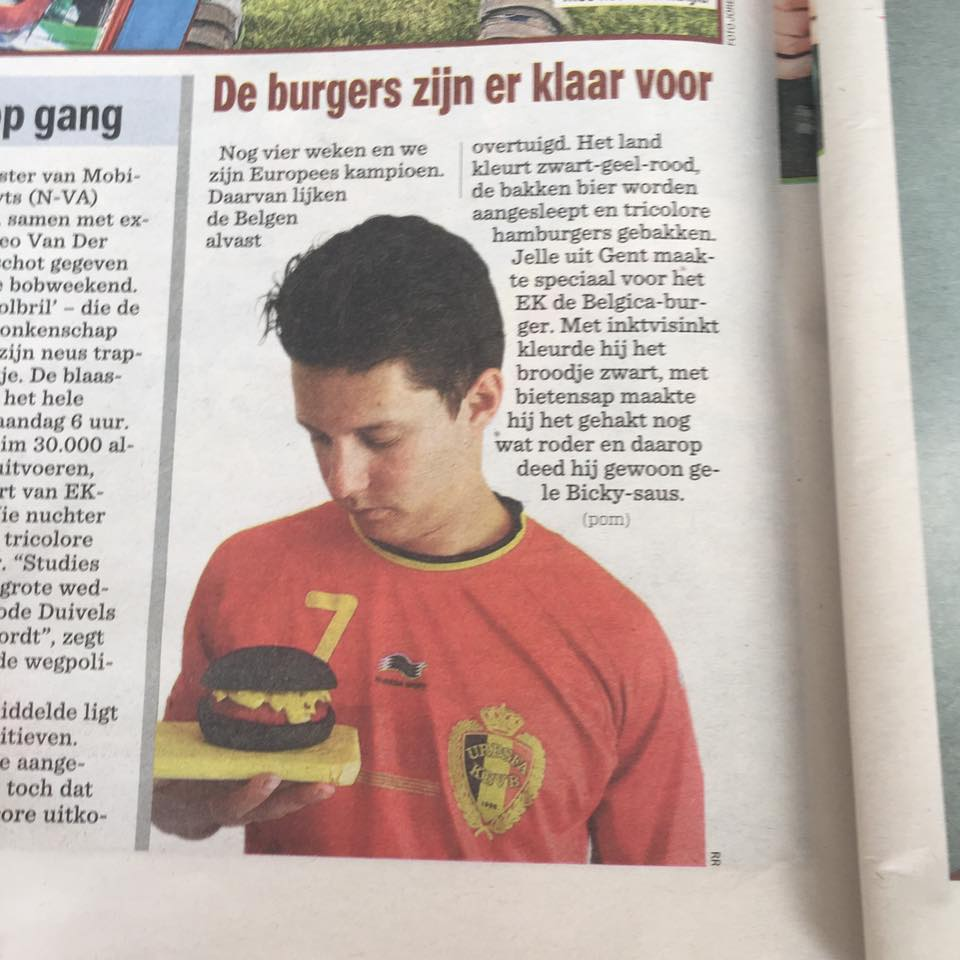 The belgium burger