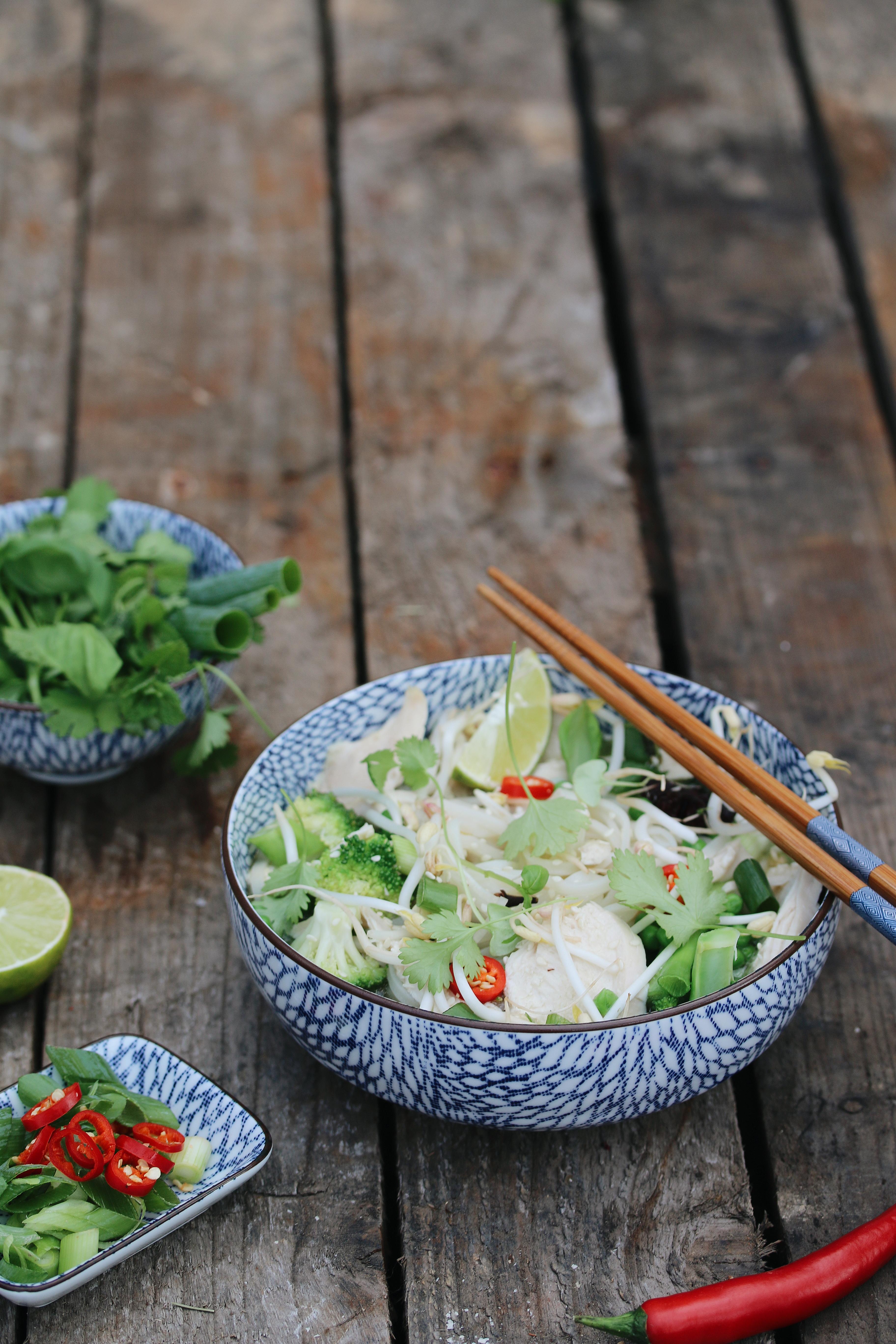 Vietnameese pho chicken