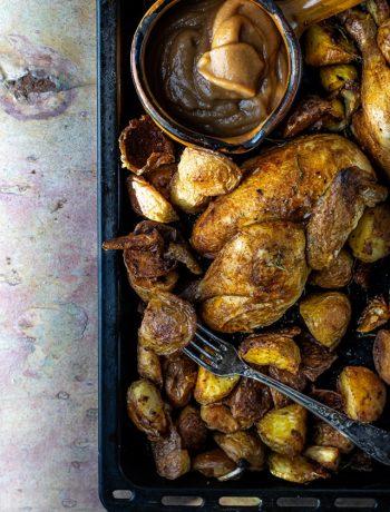 krokante aardappelen