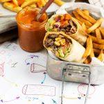 Burrito met steak